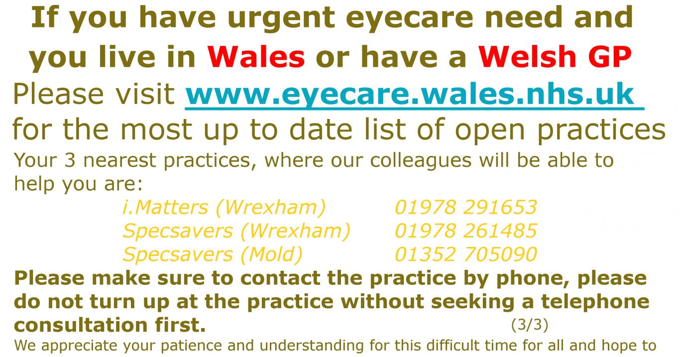 Welsh Urgent Eyecare